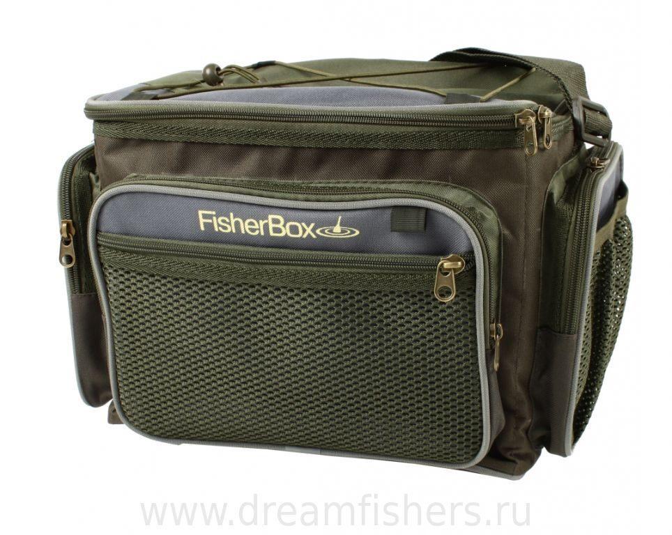 сумка рыболова большая fisher box 102