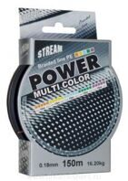 Шнур POWER MULTI COLOR 150 м (0,12 мм - 9,10 кг)